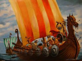 vikings by toratora5