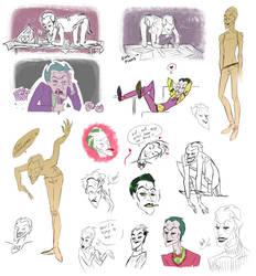 Joker Sketches 00 by J0801