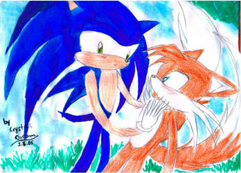 Sonic and tails by Crystal-Dream