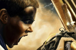 Mad Max: Fury Road, Furiosa by IkacCassArt