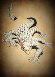 RWBY Bestiary: Salamander Coloured by Demize00Zero