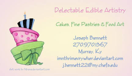 Delectable Edible Artistry by IMntHRimEVRYWHER