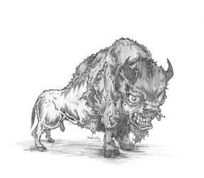 buffalo by jothecrusader
