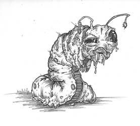 caterpillar by jothecrusader