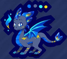 Dragon Adopt CrystalFire - Closed by chocone