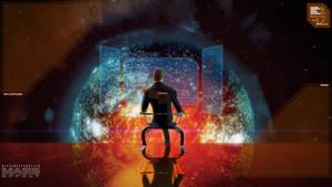 Mass Effect - Illusive Man Desktop Wallpaper by ThePaSch85