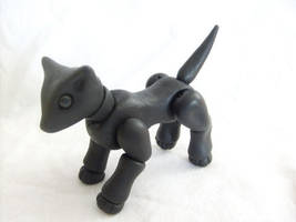 BJD Black Dog by vonBorowsky