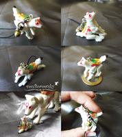Micro Poseable Amaterasu by vonBorowsky