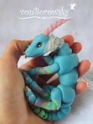 Blue Dragon WIP 3 by vonBorowsky