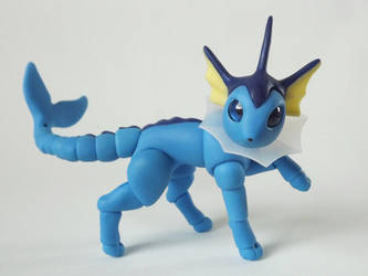 Handmade Vaporeon Ball Jointed Doll by vonBorowsky