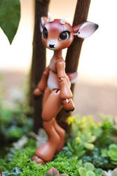 Timber the Little Deer Ball Jointed Doll 15 by vonBorowsky