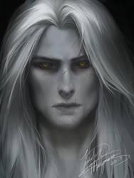 CastlevaniaLOS: Alucard by Jennifer-Manzanera