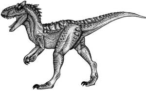 Allosaurus by Pacadian