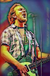 Eddie Vedder by teresanunes