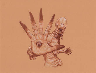 Pan's Labyrinth Pale Man by Frankblanket
