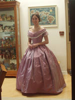 Lavender Pink Ball Gown by Lady-Lovelace