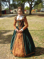 Court Gown 2010 Full Length by Lady-Lovelace