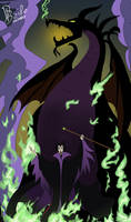 Mistress of all evil by SatyHarvenheit