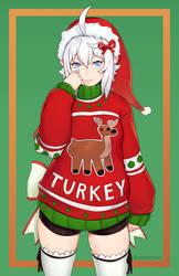 Luna - Christmas Sweater by Unsomnus
