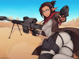 Lantea Commission - Desert Sniper by Unsomnus