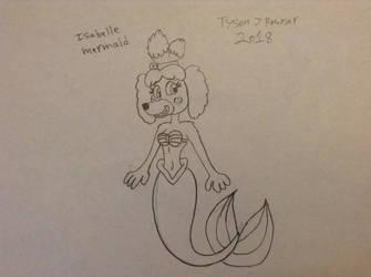 Isabelle mermaid by RowserlotStudios1993