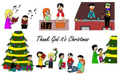 Thank God it's Christmas by KiokoYamamoto
