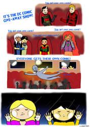 YOU get your own comic, YOU get your own comic... by KiokoYamamoto