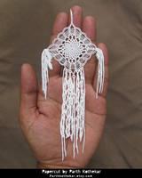 Papercut - Crochet - Dream Cathcher by ParthKothekar