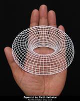 Miniature Papercut - Papercutting - 3dpapercut by ParthKothekar