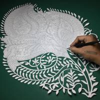Papercut - Indian - Papercutting - Paper - Art - by ParthKothekar