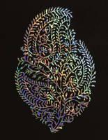 Holographic - Papercut - Art - Parthkothekar by ParthKothekar