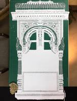 Jharokha - Papercut - Papercutting - India - Art by ParthKothekar