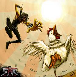 S.R.T. ChickenTerror by ManiacSoul