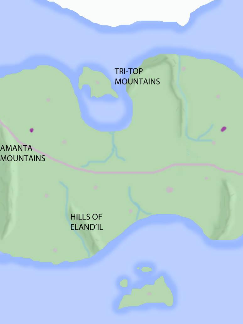 World Map - Mountain Ranges by TimeAgentAvril on DeviantArt