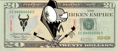 money by INVADERZIM1000