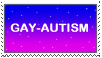 Gay-Autism Stamp by Nashokur