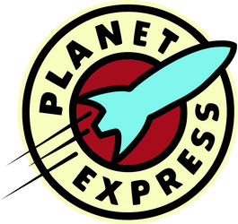 Planet Express Logo by noxwyll