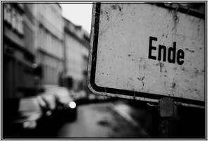 the end... by djsue