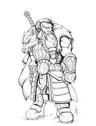 Dwarf Fighter 2 - Ink by Eppy