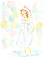 OP - watercolor by Sanogirl
