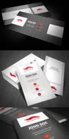 Stripe Style Business Card by glenngoh