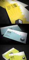 Drip Business Card + QR Code by glenngoh