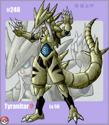 Pokedex: Tyranitar by ember-reed