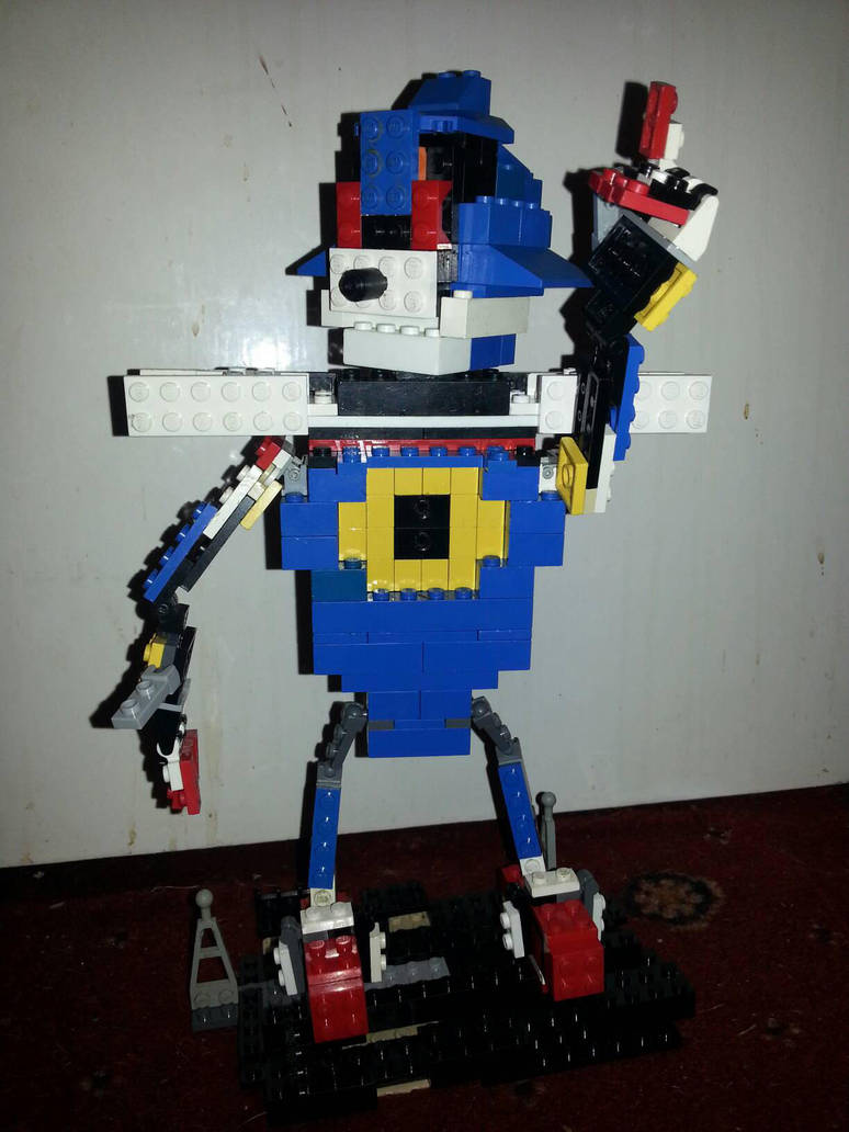 Lego Sonic The Hedgehog Metal Sonic By Gaster2812 On Deviantart
