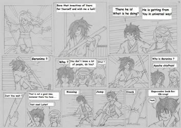 Tokyo comic - Chase 2 by RedJohn90