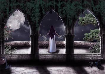 Moon-Queen by Cartercho
