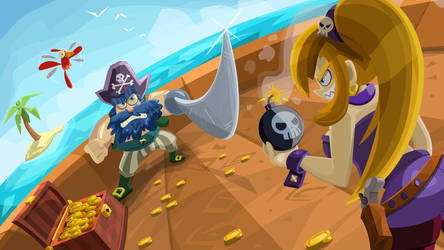 Pirates by utria