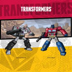 Megatron Vs Optimus by utria