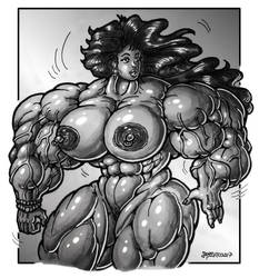 1711 Broad Shoulders by Jennysartwork