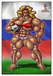 1806 FIFA World Cup 2018 by Jennysartwork